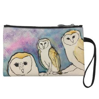 Watercolor Owl Purse