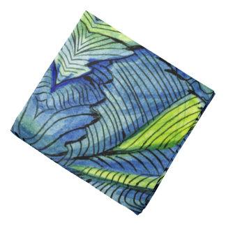 Watercolor Paint Ink Wash Abstract Design Bandana
