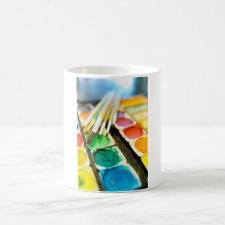 Watercolor Paint Set Coffee Mug