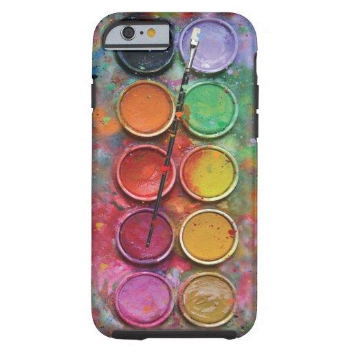 Watercolor Paintbox iPhone 6 Case