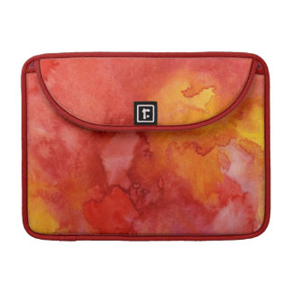 Watercolor painting background. MacBook pro sleeves