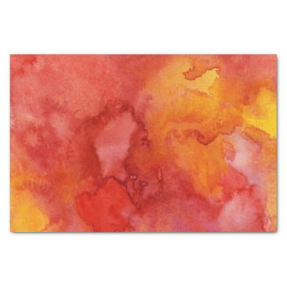 Watercolor painting background. tissue paper