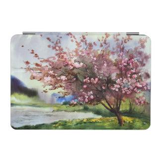 Watercolor Painting Landscape iPad Mini Cover