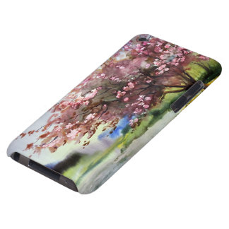 Watercolor Painting Landscape iPod Touch Cases