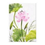 Watercolor Painting Of Lotus Flower 2