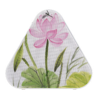 Watercolor Painting Of Lotus Flower 2