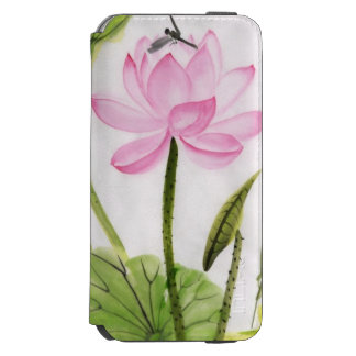 Watercolor Painting Of Lotus Flower 2 Incipio Watson™ iPhone 6 Wallet Case