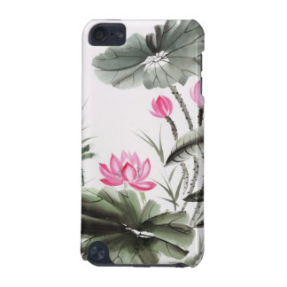 Watercolor Painting Of Lotus Flower iPod Touch (5th Generation) Cases