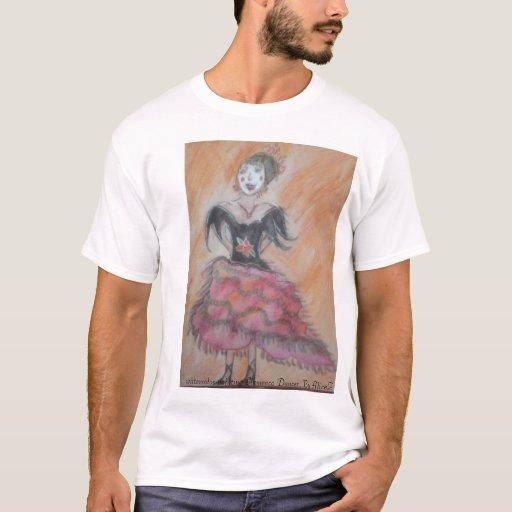 Watercolor painting of Spanish Flamenco Dancer,... T-Shirt