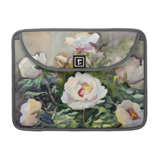 Watercolor Painting Of The Beautiful Flowers Sleeves For MacBook Pro