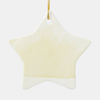 Watercolor Painting Sun Yellow Ombre Modern Art Ceramic Star Decoration