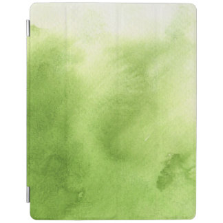watercolor paints on a rough texture paper iPad cover
