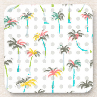 Watercolor Palm Trees Coasters