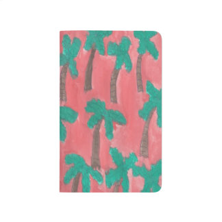 Watercolor Palm Trees Journal