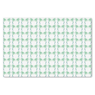 Watercolor Palm Trees Tissue Paper