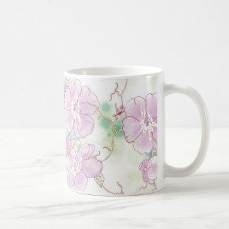 Watercolor Pansies,  Mug