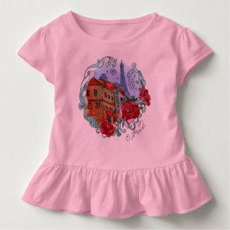 Watercolor Paris T Shirt
