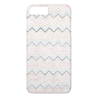 Watercolor Pastel Chevron iPhone 7 PLUS Case