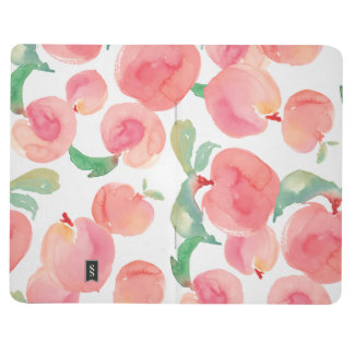 Watercolor Peaches Journal