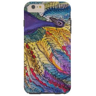 Watercolor Peacock Phone Case