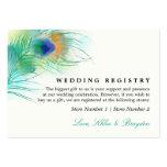 Watercolor Peacock | Wedding Gift Registry