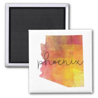 Watercolor Phoenix Arizona Magnet
