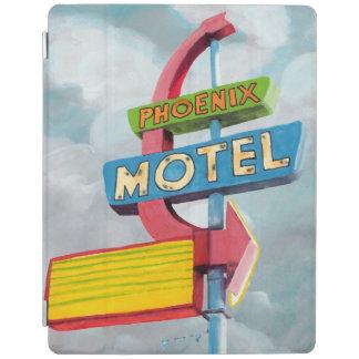 Watercolor Phoenix Motel iPad Cover