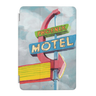 Watercolor Phoenix Motel iPad Mini Cover