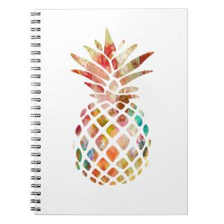Watercolor Pineapple Notebook