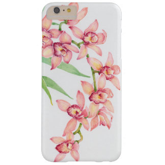 Watercolor Pink Flowers Barely There iPhone 6 Plus Case