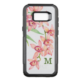 Watercolor Pink Flowers OtterBox Commuter Samsung Galaxy S8+ Case