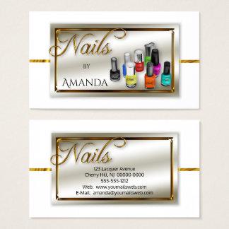 Watercolor Polish Nail Salon | Stylist Faux Gold