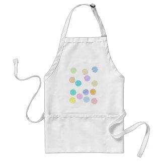 Watercolor Polka Dots Apron