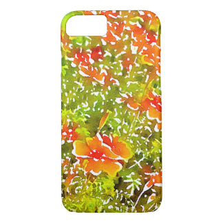 Watercolor Poppies iPhone 7 Case
