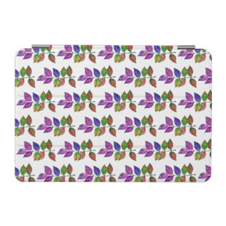 Watercolor Rainbow Leaves iPad Mini Cover