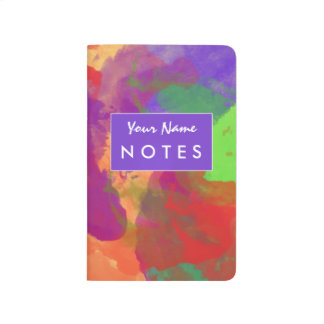 Watercolor Rainbow | Personalized Pocket Journal
