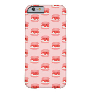 Watercolor Raspberry Cream Macaron All Over Print Barely There iPhone 6 Case