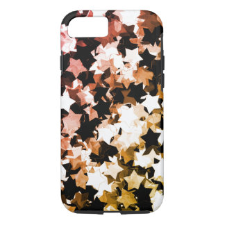 WaterColor Red Kawaii Stars Shibuya Night iPhone 8/7 Case