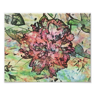 Watercolor Rhody Photographic Print