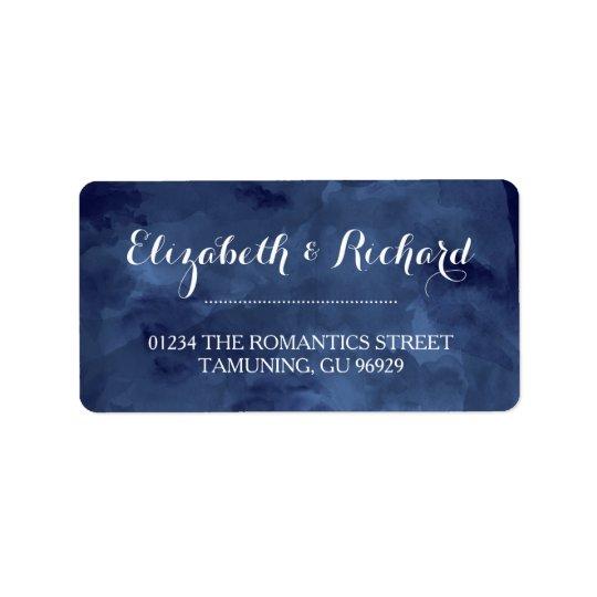 Watercolor Romance Address Labels