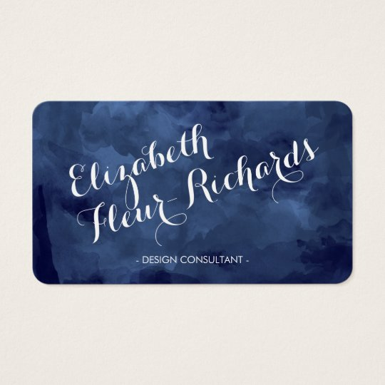 Watercolor Romance Business Cards