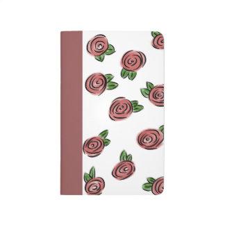 Watercolor Rose Journal