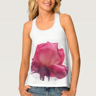 watercolor.Rose. Tank Top