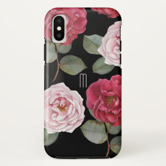 Watercolor Roses Apple Tough iPhone X Case