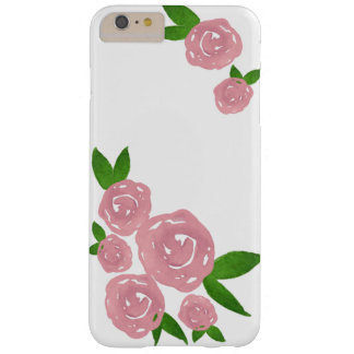 Watercolor Roses (Baby Pink) iPhone Case