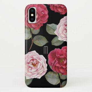 Watercolor Roses iPhone X, Barely There Phone Case
