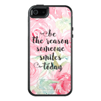 Watercolor roses OtterBox iPhone 5/5s/SE case