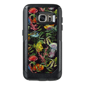 Watercolor Sea Life Pattern 1 OtterBox Samsung Galaxy S7 Case