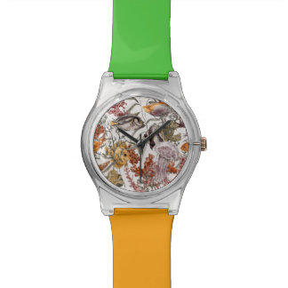 Watercolor Sea Life Pattern 2 Watches