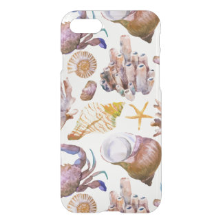 Watercolor Sea Life Pattern 4 iPhone 8/7 Case
